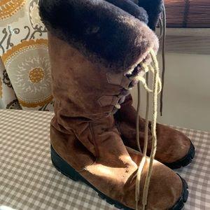 Brown Khombu Bellino Boots
